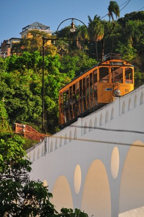 Bonde de Santa Teresa sobre os Arcos, 2011