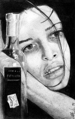 Cognac - Grafite / sketchbook / 1999.