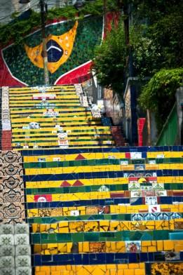 Escadaria Selarón, Lapa, 2011
