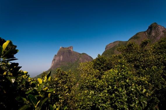 Pedra da Gávea, vista do alto da Boa Vista, 2012